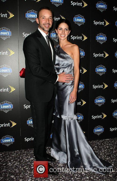 Chad Knaus and Lisa Rockelmann