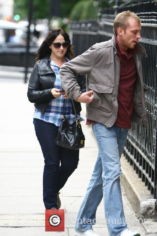 Natalie Cassidy with her new boyfriend Adam arriving...