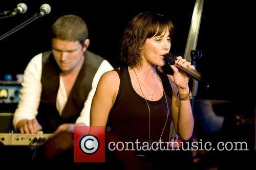 Natalie Imbruglia performing live at The Lexington London,...