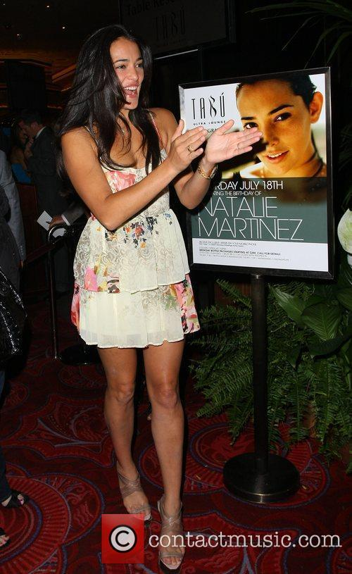 Natalie Martinez and Tabu Ultra Lounge 5