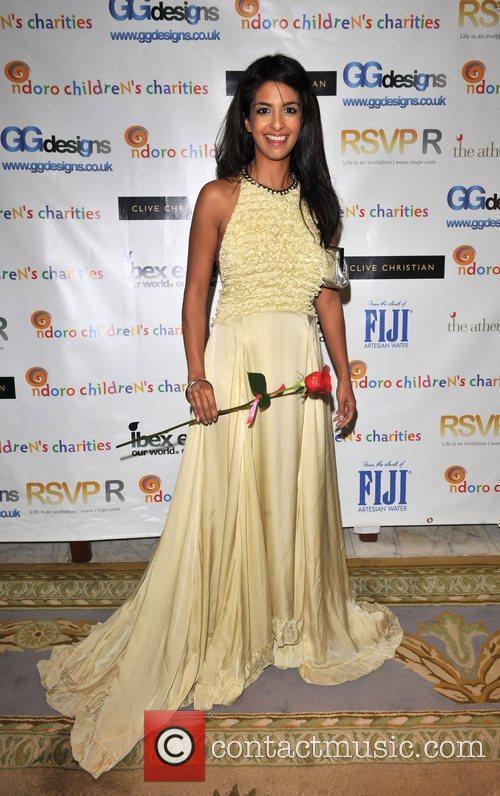 Konnie Huq Ndoro Children's Charities - gala fundraiser...