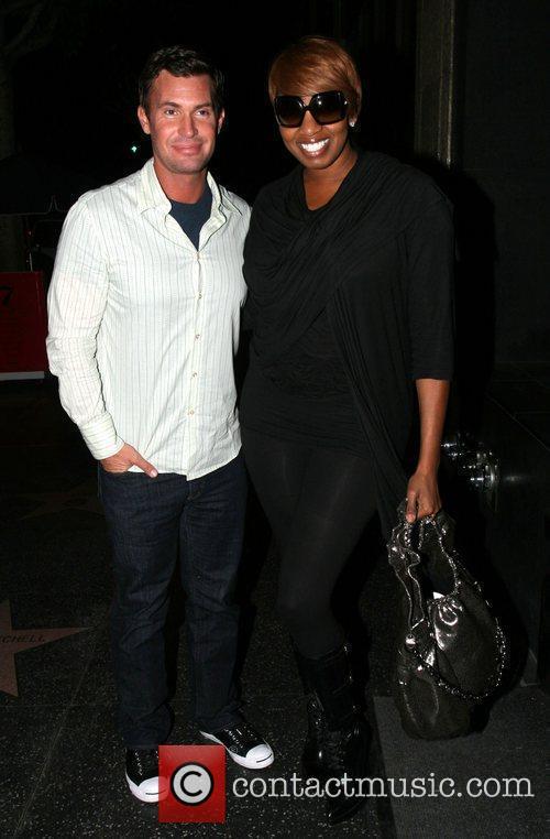 Bravo reality stars Jeff Lewis and NeNe Leakes...