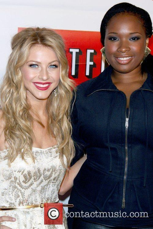 Julianne Hough and Jennifer Hudson Netflix hosts a...