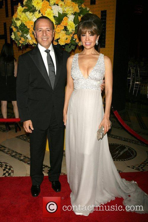 Tommy Mottola and Thalia 2