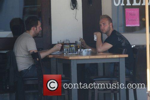 Nick Hogan Having Lunch At Toast On 3rd Street With His Public Relations Man 5
