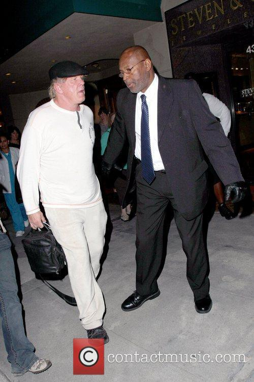 Nick Nolte leaving a medical building in Beverly...