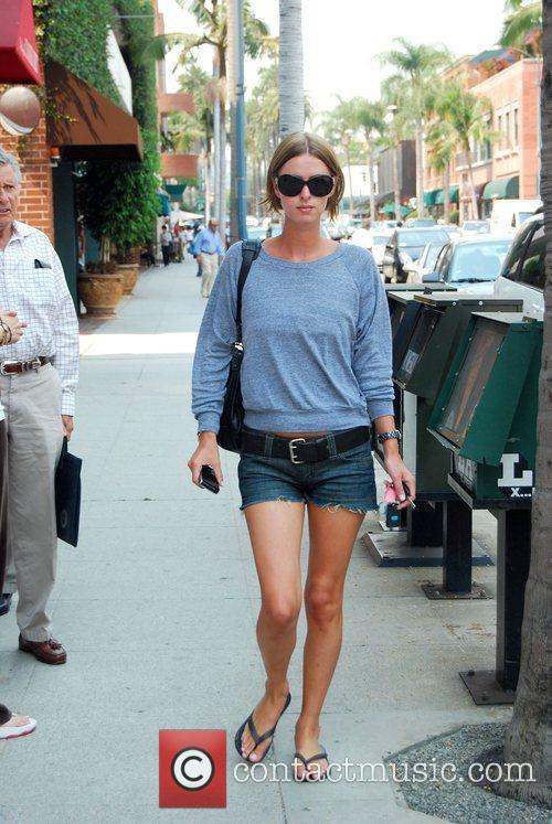 Nicky Hilton walking down Bedford Avenue Los Angeles,...