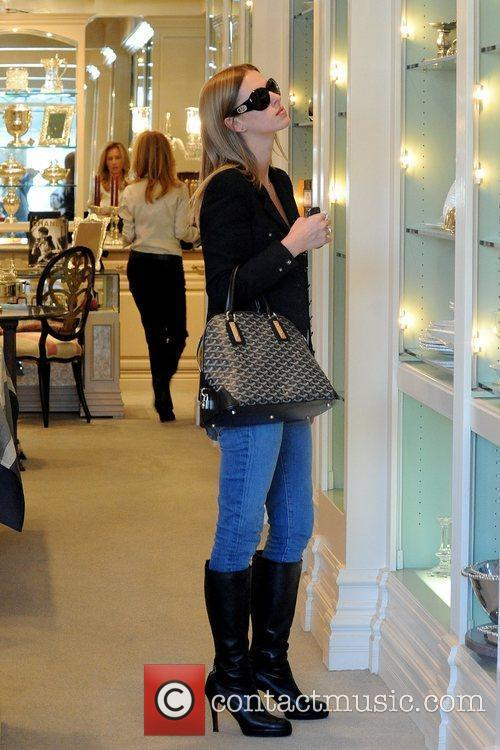 Nicky Hilton shopping at Mayfair House on Beverly...