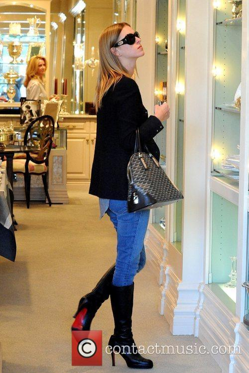 Shopping at Mayfair House on Beverly Boulevard
