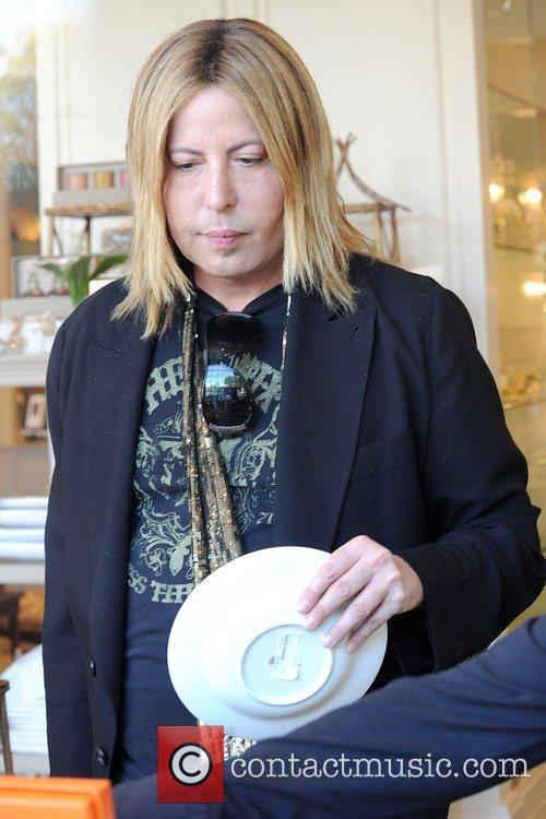 Steven Cojocaru shopping at Mayfair House on Beverly...