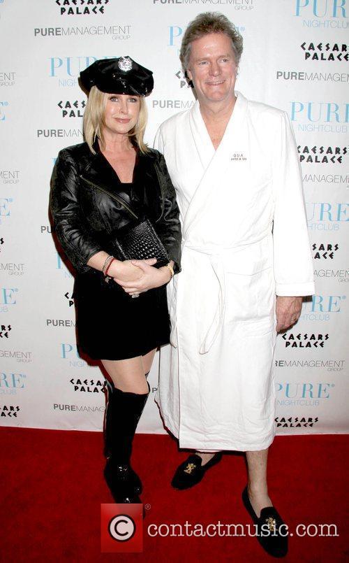 Kathy Hilton and Rick Hilton celebrate Halloween at...