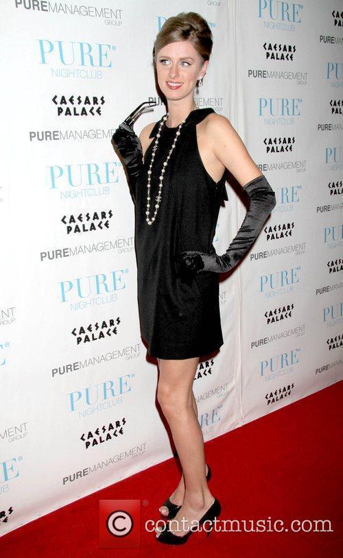 Nicky Hilton celebrate Halloween at Pure Nightclub inside...
