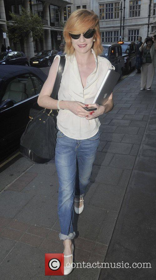 Nicola Roberts arriving at the Mayfair Hotel. London,...