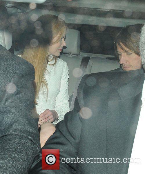 Nicole Kidman and Keith Urban leaving their hotel...