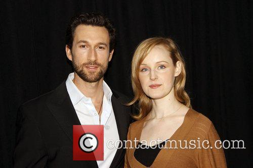 Aaron Lazar and Erin Davie Photocall for the...