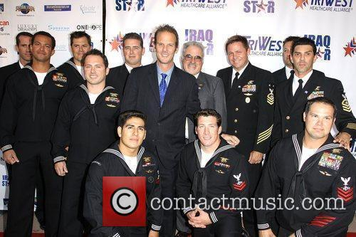 Peter Berg (center) 'A Night Of Honor' to...