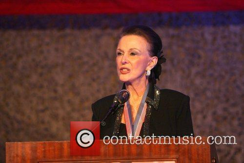 Maggie Lockridge attending 'A Night of Honour' which...