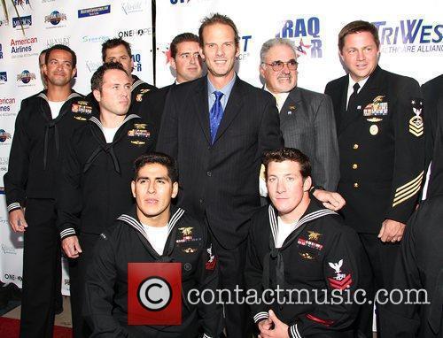 Peter Berg and Navy Seals 5