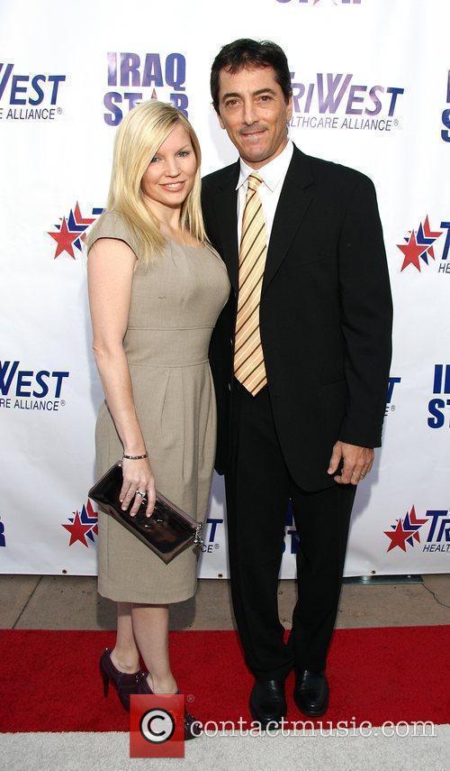 Renee Sloan & Scott Baio attending 'A Night...