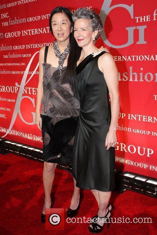 Vera Wang and Catherine Walsh 2
