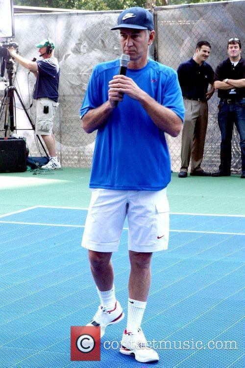 Nike Youth Tennis Challenge held at the Nike...