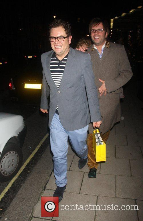 Alan Carr Nine Premiere afterparty - departures at...