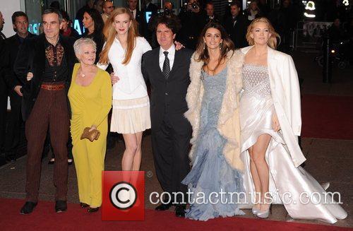 Daniel Day Lewis, Judi Dench, Nicole Kidman and Penelope Cruz 7