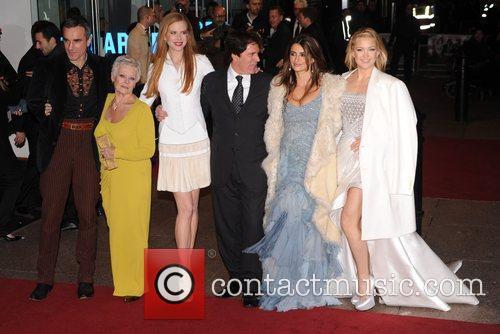 Daniel Day Lewis, Judi Dench, Nicole Kidman and Penelope Cruz 5