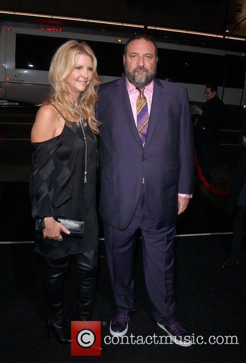 Joel Silver and Guest The Premiere of 'Ninja...