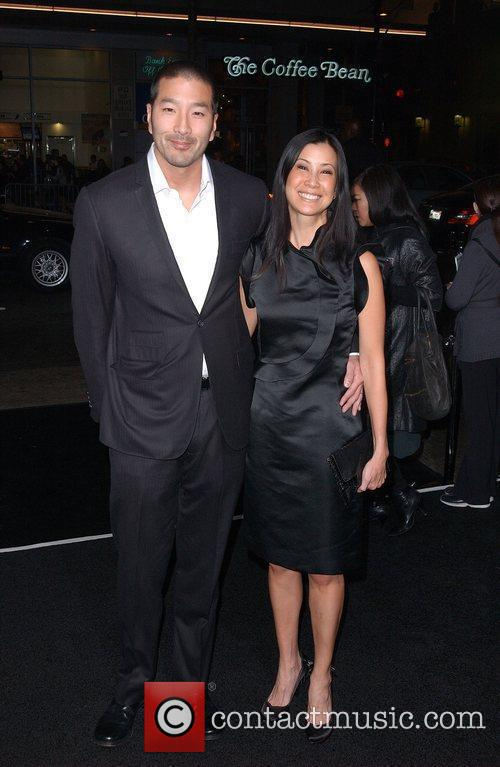 Lisa Ling and Guest The Premiere of 'Ninja...