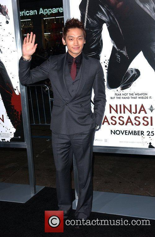 Rain The Premiere of 'Ninja Assassin' held at...