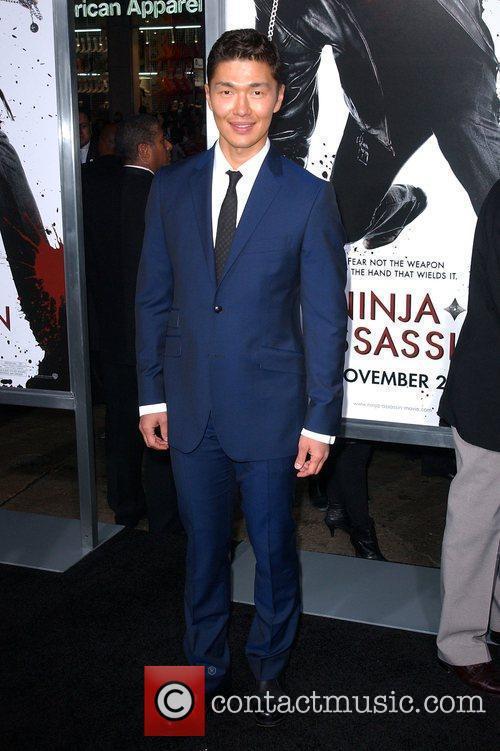 Rick Yune The Premiere of 'Ninja Assassin' held...