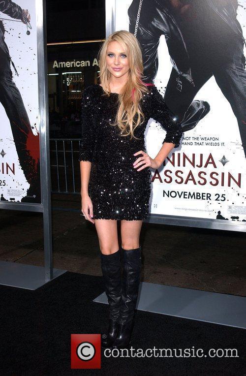 Stephanie Pratt The Premiere of 'Ninja Assassin' held...