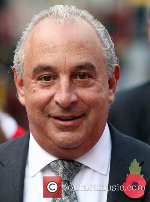 Sir Philip Green  on Oxford Street to...