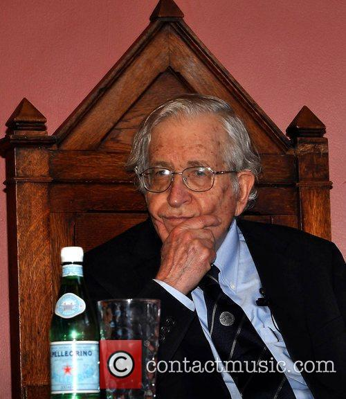 American intellectual Noam Chomsky is awarded The Gold...
