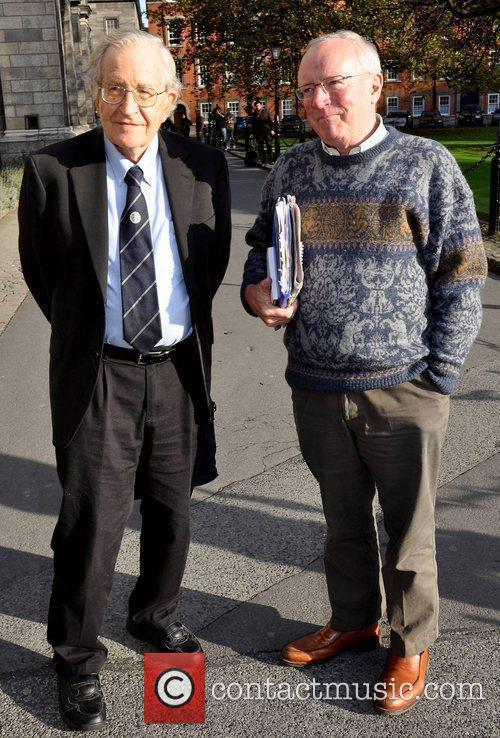 Noam Chomsky and Robert Fisk 2