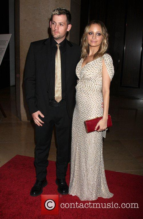 Joel Madden and Nicole Richie The Nobel Awards...