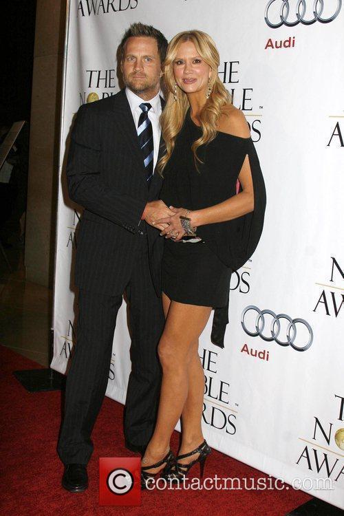 Nancy O'Dell & husband The Nobel Awards held...