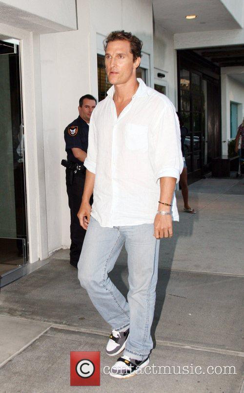 Matthew McConaughey at Nobu