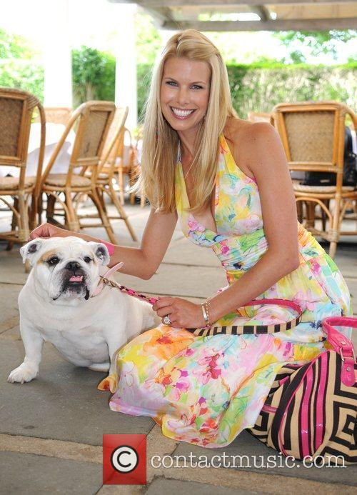 Beth Ostrosky and her bulldog Bianca The North...