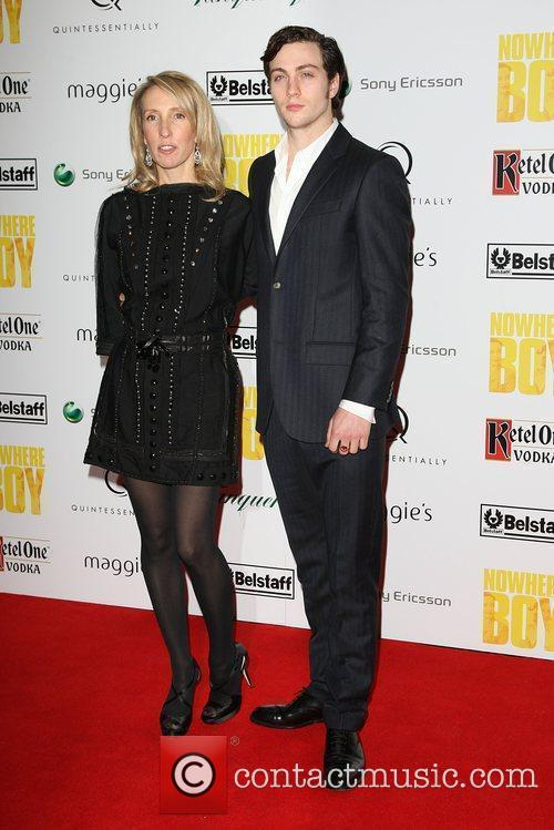 Sam Taylor Wood and Aaron Johnson Quintessentailly hosts...