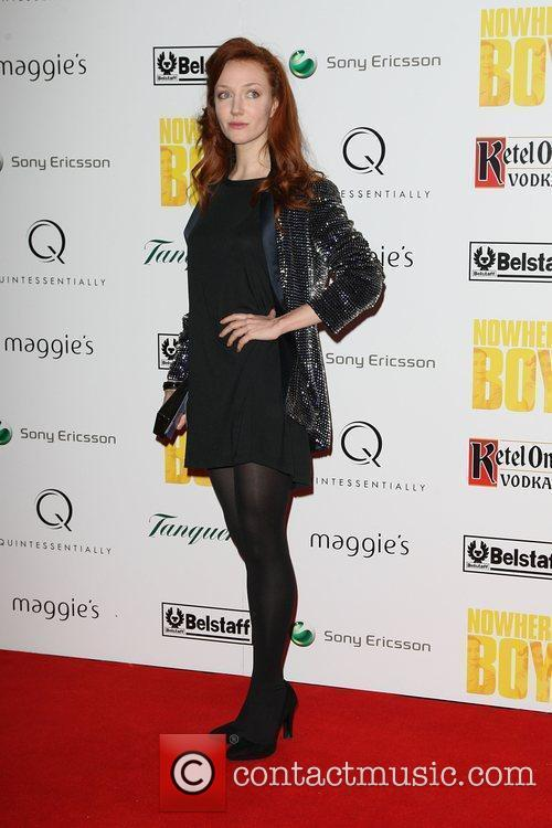 Olivia Grant Quintessentailly hosts the premiere of 'Nowhere...