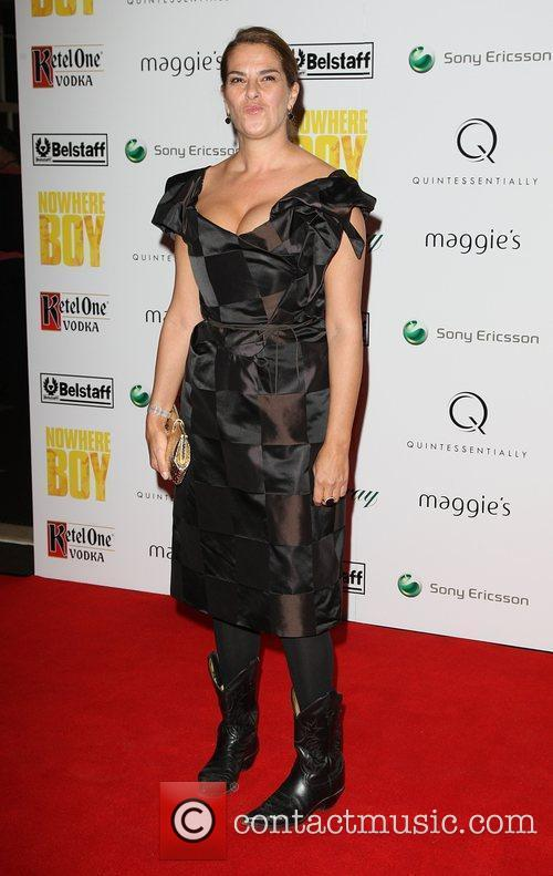 Tracey Emin Quintessentailly hosts the premiere of 'Nowhere...