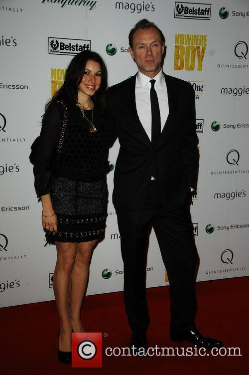 Gary Kemp and wife Quintessentially hosts the premiere...