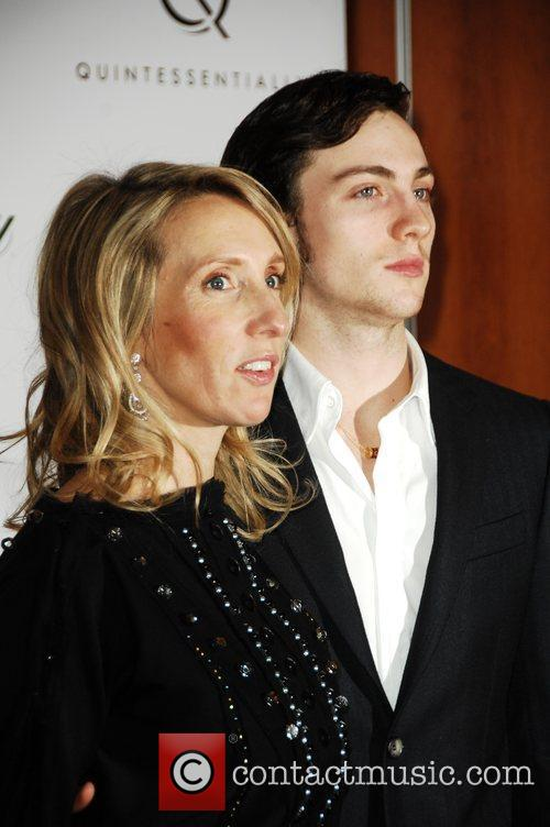 Sam Taylor Wood and Aaron Johnson Quintessentially hosts...