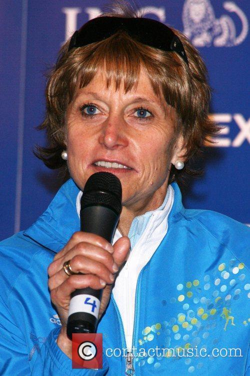Grete Waitz ING New York City Marathon press...