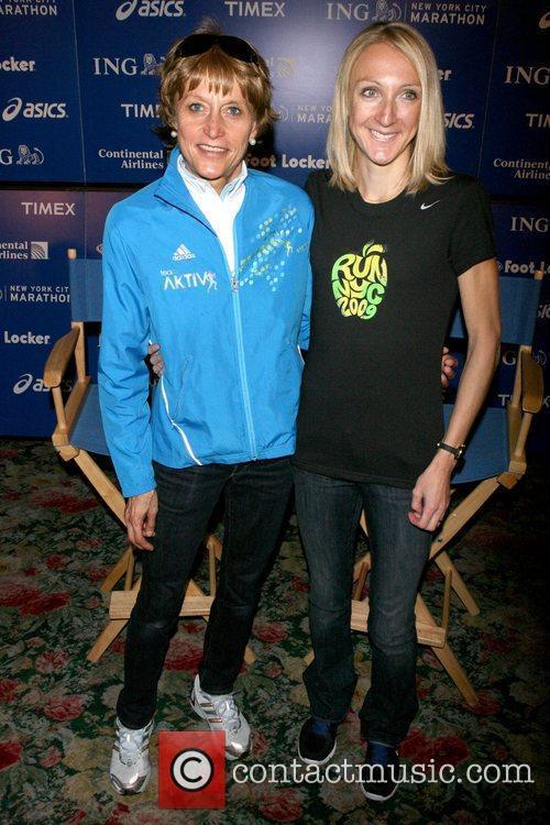 Grete Waitz and Paula Radcliffe ING New York...