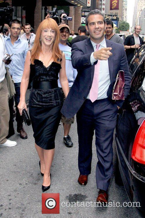 Kathy Griffin and Andy Cohen 5