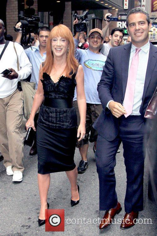 Kathy Griffin and Andy Cohen 3