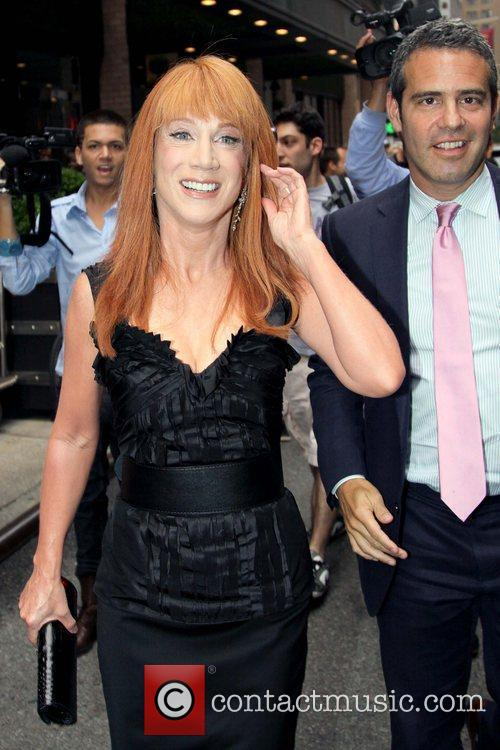 Kathy Griffin and Andy Cohen 8